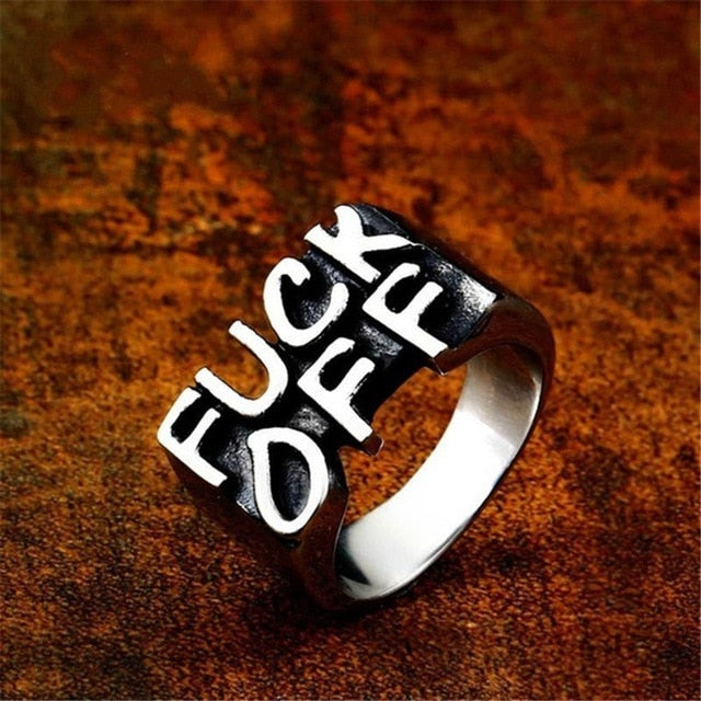 Fu*k Off Ring