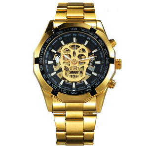 Mechanical Skull Watch
