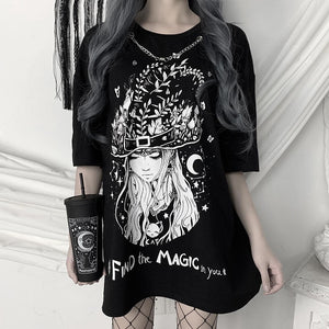 Lady Witch Dress Top