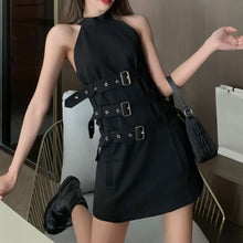 Load image into Gallery viewer, Gothic Sleeveless Dress