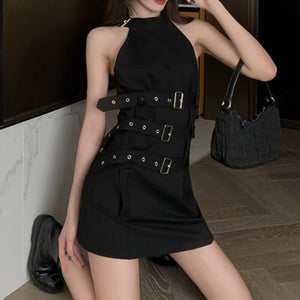 Gothic Sleeveless Dress