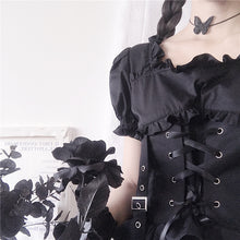 Load image into Gallery viewer, Renaissance Black Lolita Dress