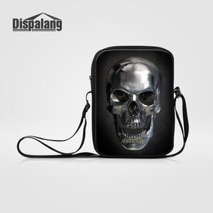 Skull Messenger Bag