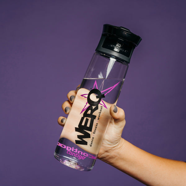 24-oz WERQ Spill-Proof Water Bottle - The WERQ Shop | Official WERQ Dance Fitness Gear