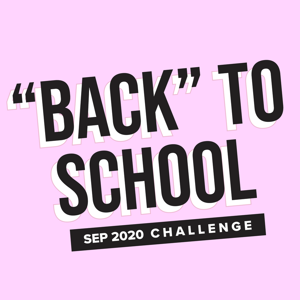 "FREE ""Back"" To School Challenge  Printable!"