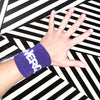 Purple WERQ Sweatbands (set of 2) - The WERQ Shop | Official WERQ Dance Fitness Gear