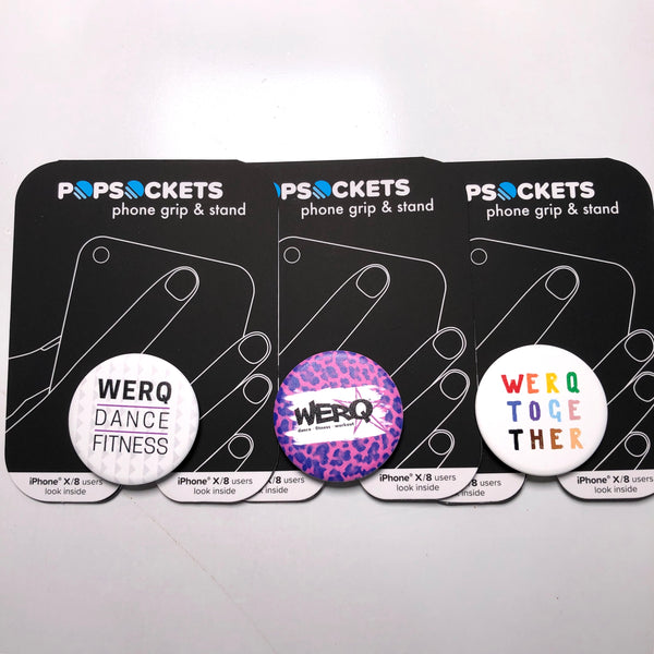WERQ PopSocket Phone Grip and Stand - The WERQ Shop | Official WERQ Dance Fitness Gear