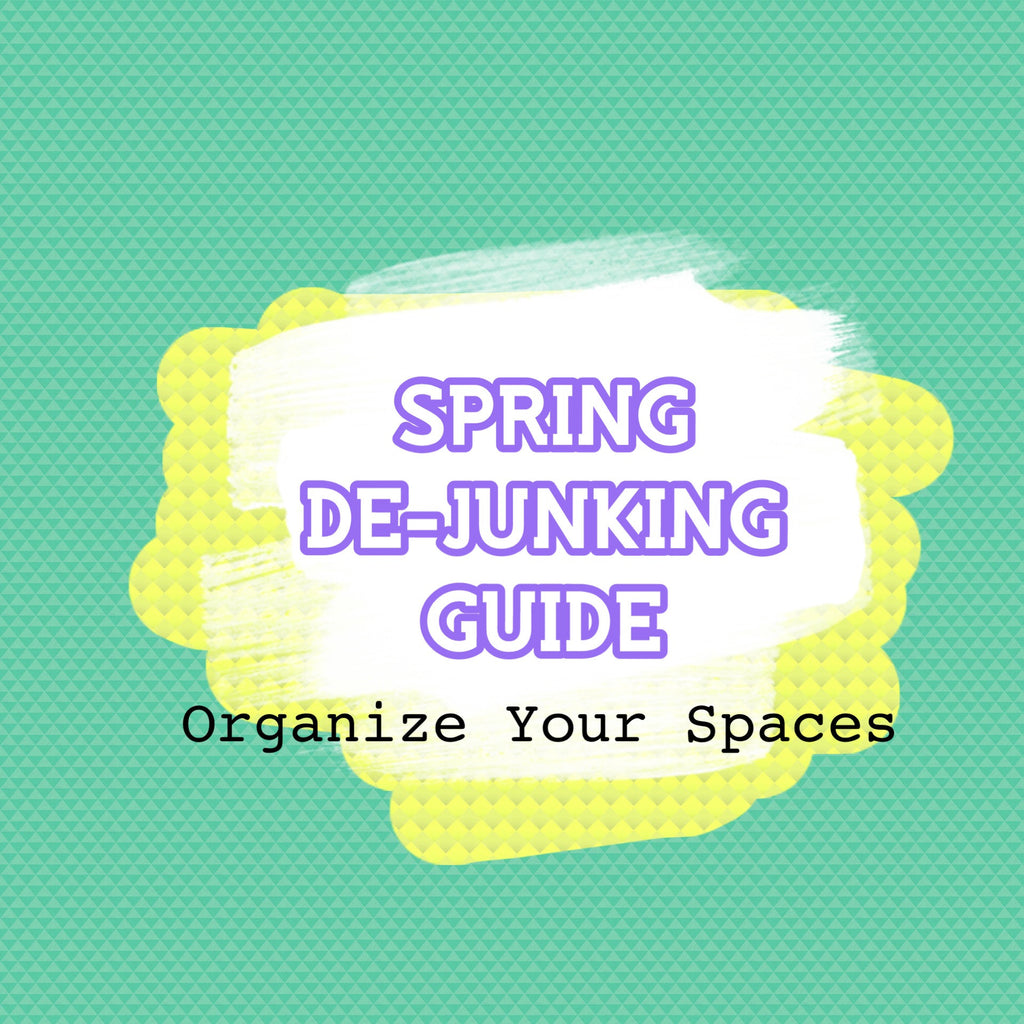 Free Spring De-Junking Guide (Printable) - The WERQ Shop | Official WERQ Dance Fitness Gear