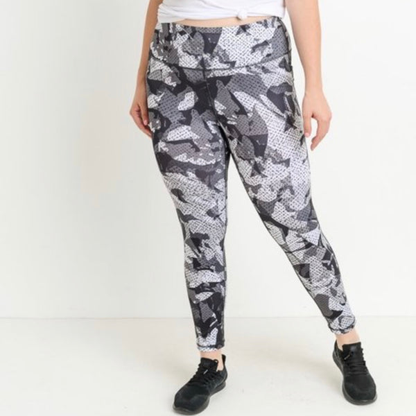 50 Shades of Grey Leggings - The WERQ Shop | Official WERQ Dance Fitness Gear