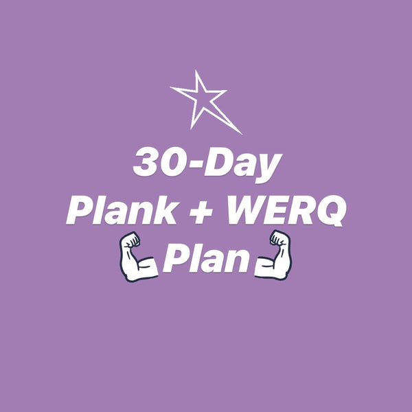 FREE 30-day WERQ-at-home printable! - The WERQ Shop | Official WERQ Dance Fitness Gear