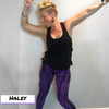 Purple Lamborghini Leggings