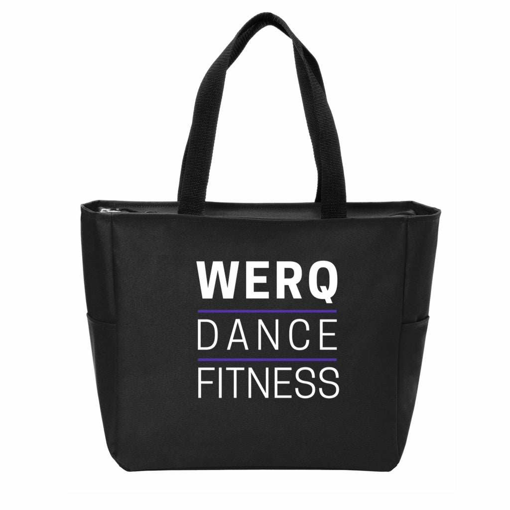 WERQ Zippered Gym Tote - The WERQ Shop | Official WERQ Dance Fitness Gear
