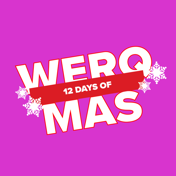 FREE 12 Days of #WERQmas Printable