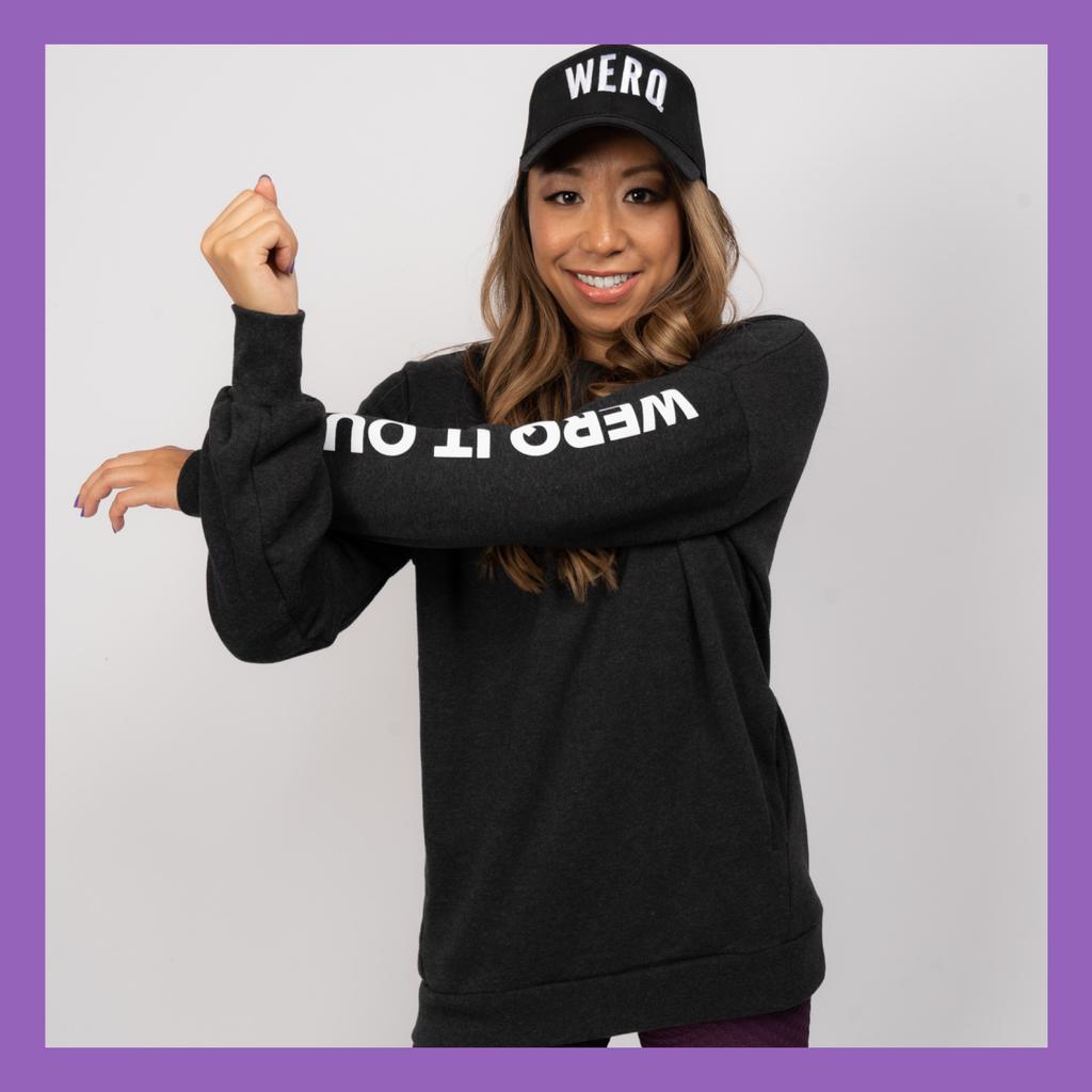 WERQ IT OUT - Crewneck Sweatshirt