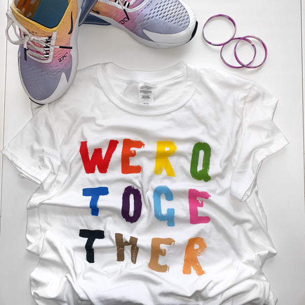 WERQ Together T-Shirt - The WERQ Shop | Official WERQ Dance Fitness Gear