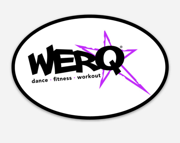 WERQ Oval Decal