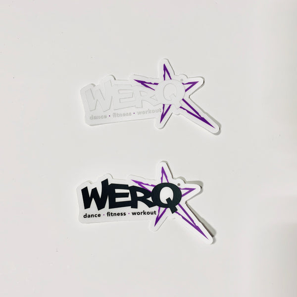WERQ logo decal pack
