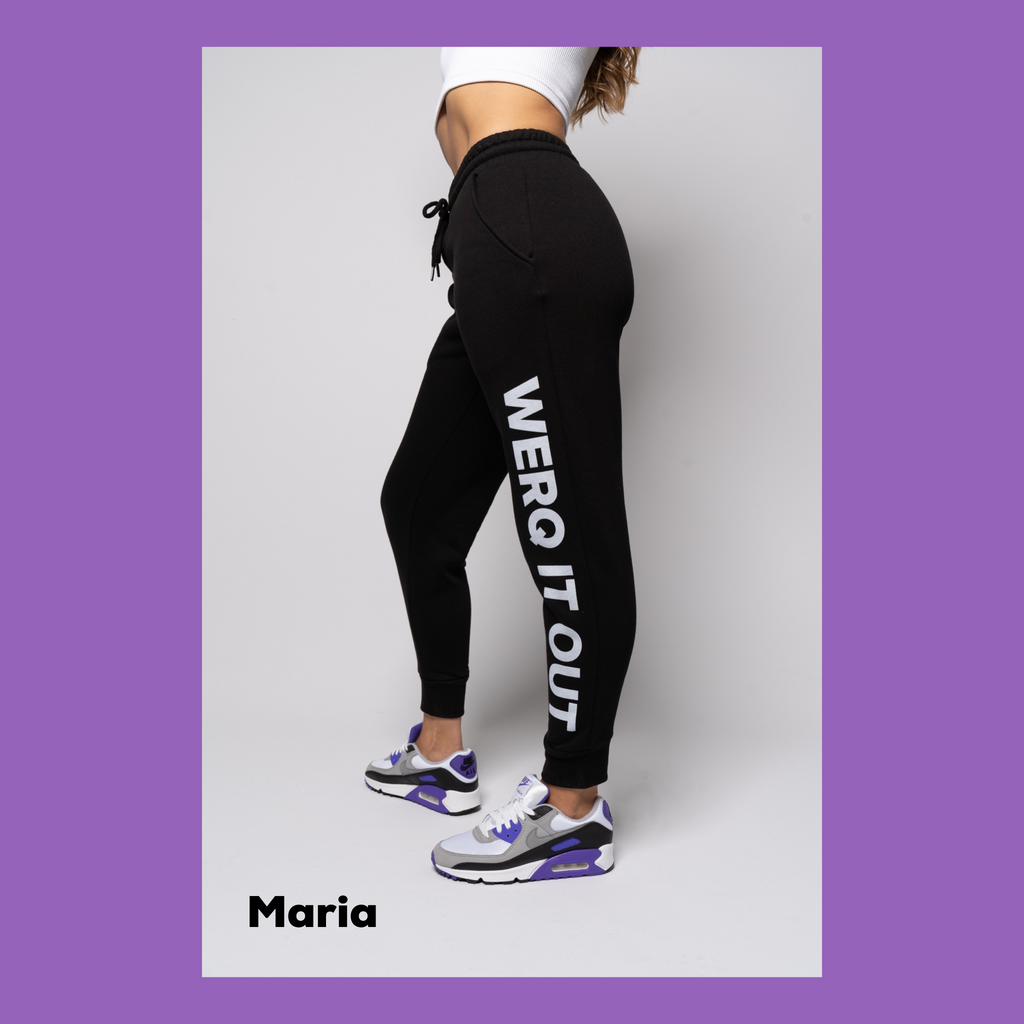 WERQ IT OUT - Fitted Joggers