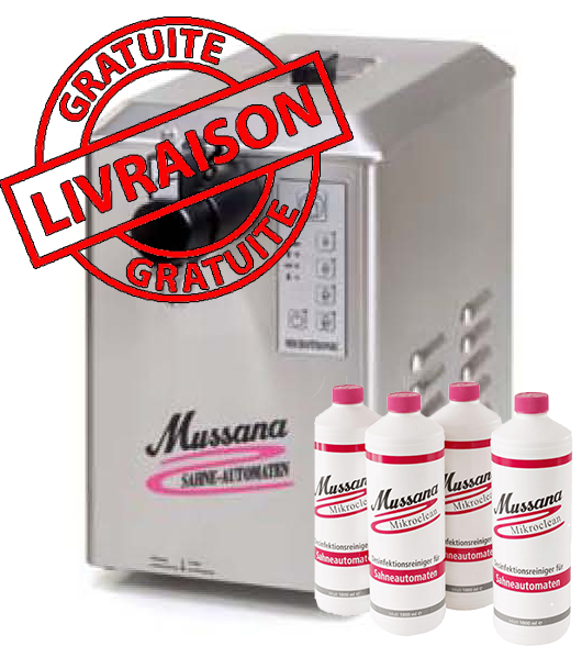 Lady Microtronic 6 Litres Mussana + 4L nettoyant