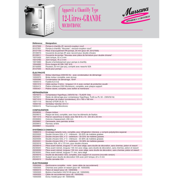 Grande Microtronic 12 Litres Mussana