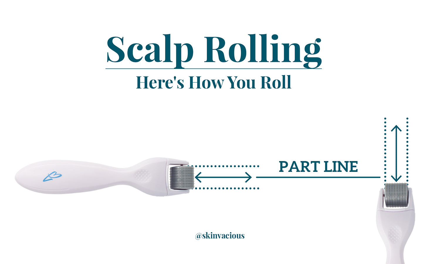 How to roll your scalp - skinVacious