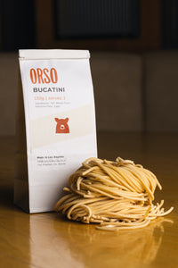 Fresh Pasta Delivery. Bucatini. Orso ships fresh pasta nationwide.