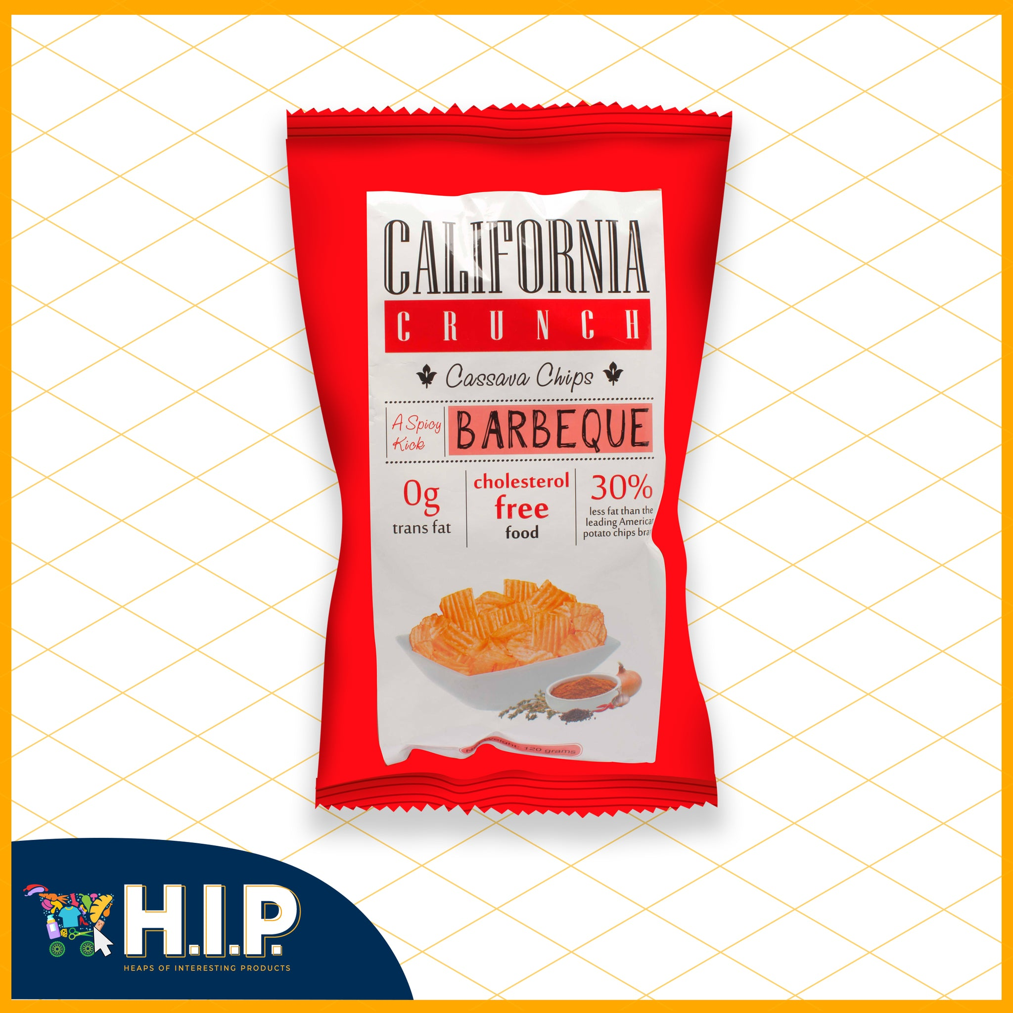California Crunch Cassava Chips BBQ