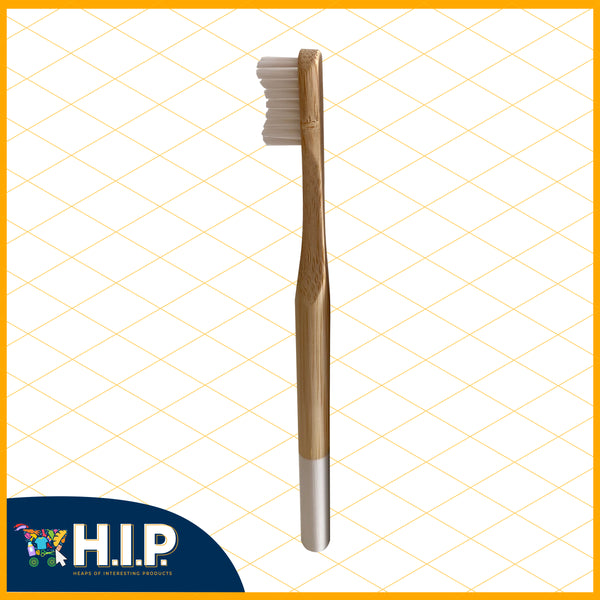 "Bamboo ""For Me"" Toothbrush - White"