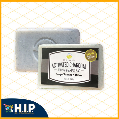 Activated Charcoal Body and Shampoo Bar