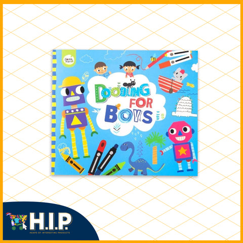 Doodling Book for Boys