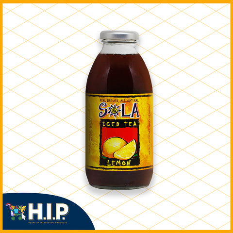 Sola Lemon Iced Tea