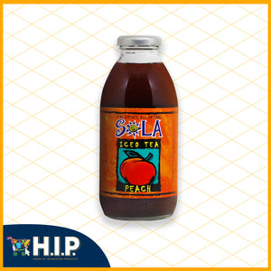 Sola Peach Iced Tea
