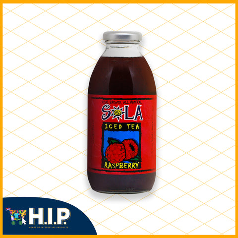 Sola Raspberry Iced Tea