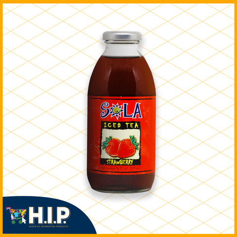 Sola Strawberry Iced Tea