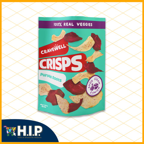 Purple Roots Crisps - Sour Cream and Onion