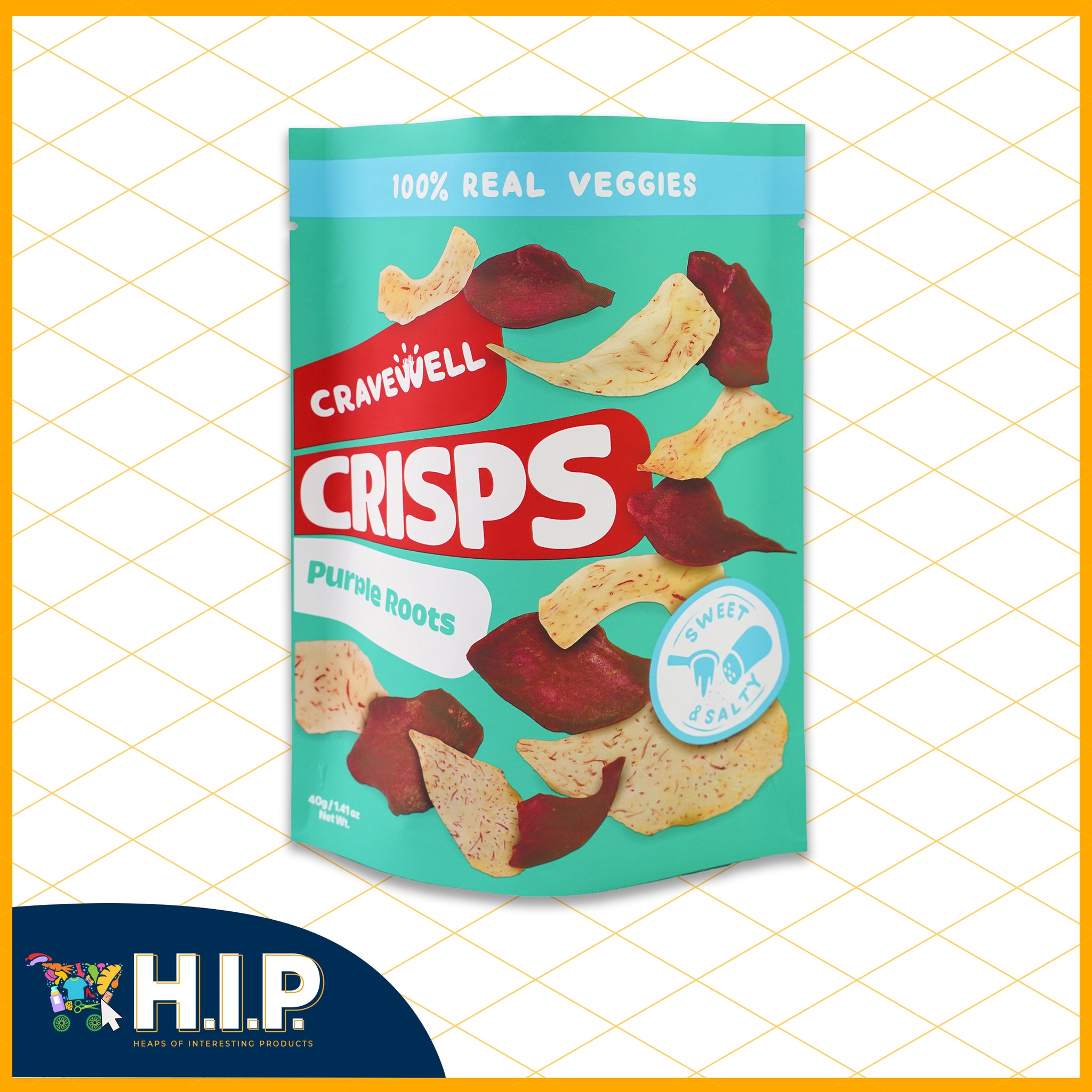 Purple Roots Crisps - Sweet and Salty