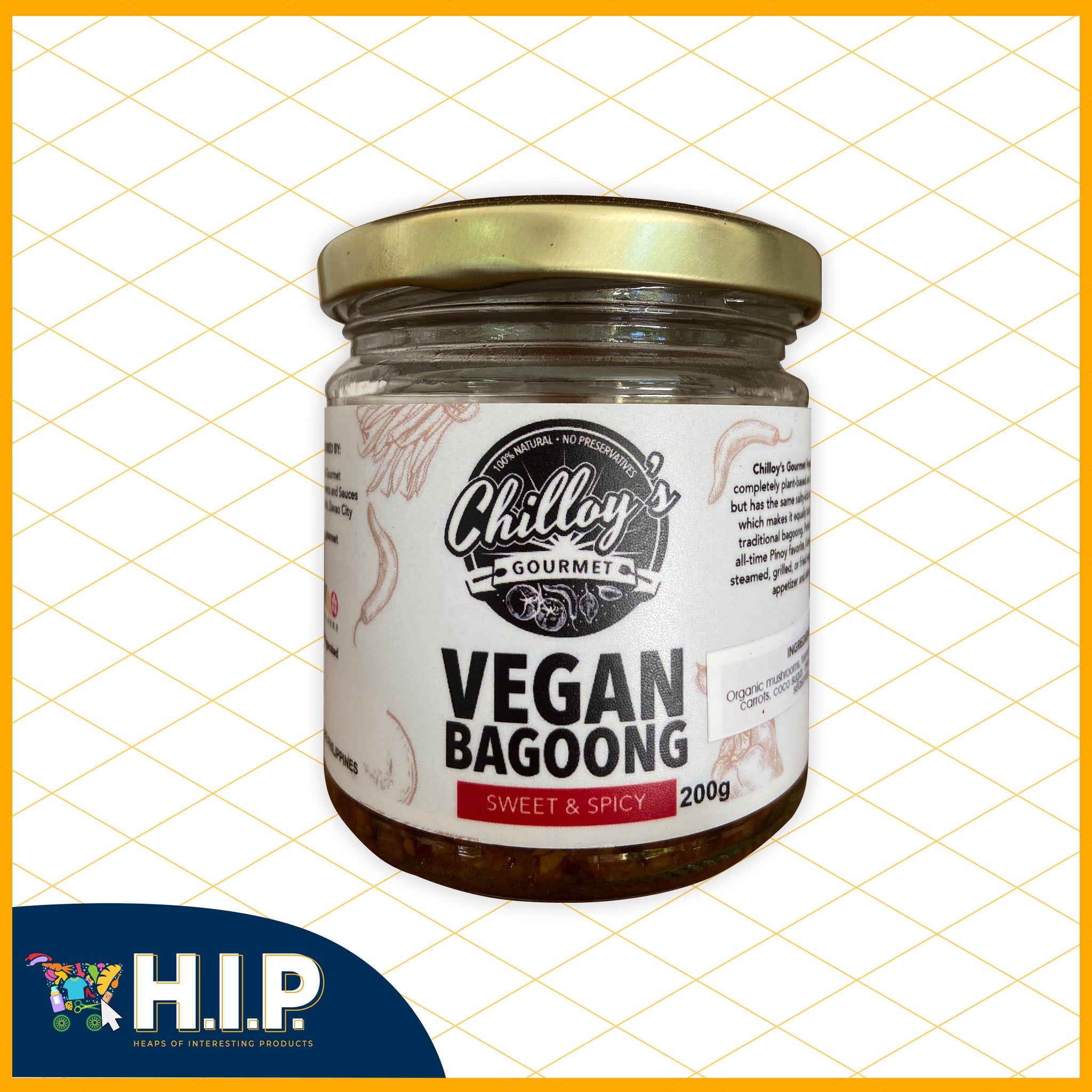 Chilloy's Vegan Bagoong
