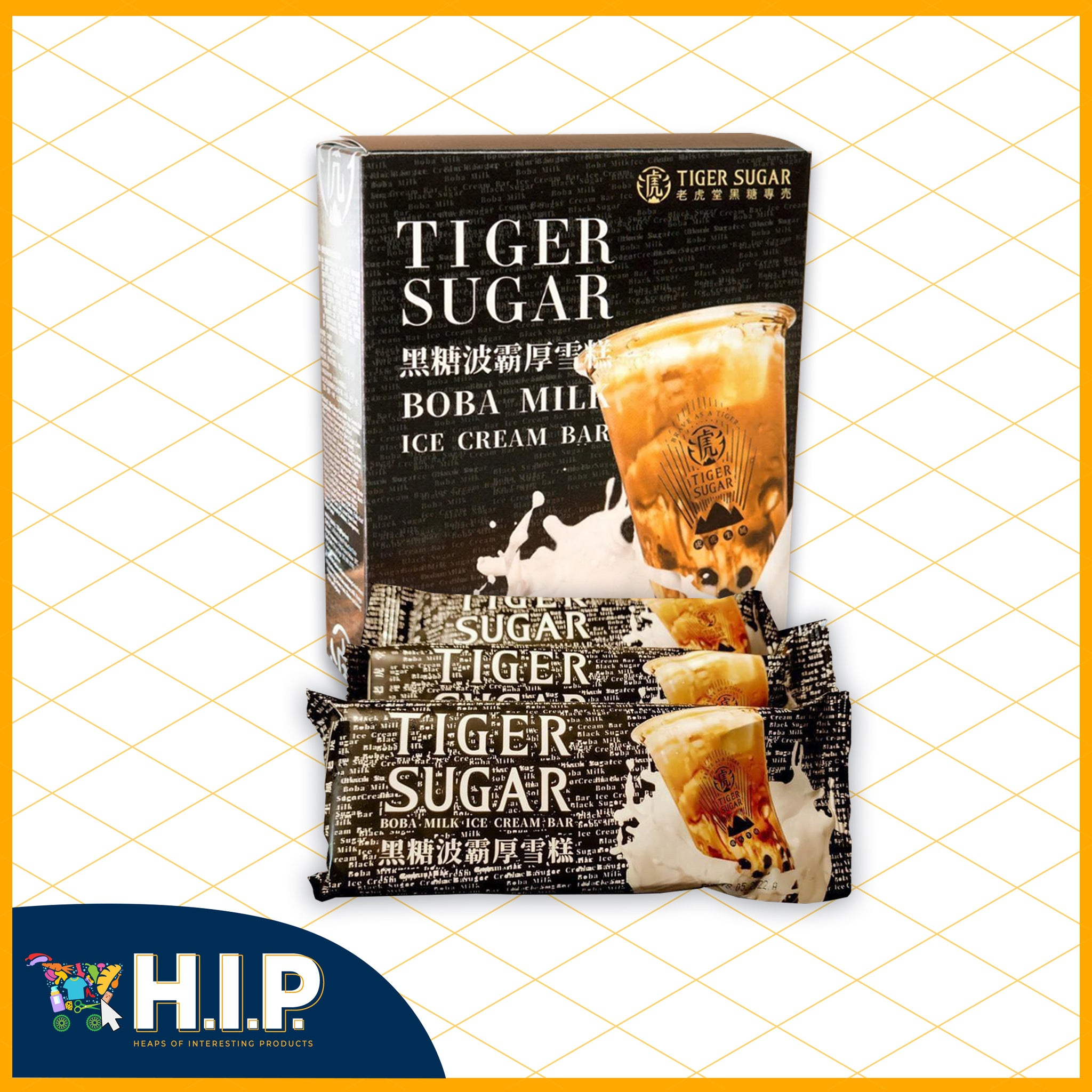 Tiger Sugar Ice Cream Bar