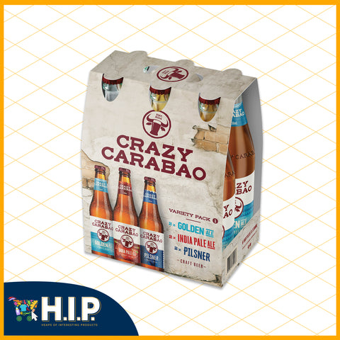 Crazy Carabao Craft Beer - Variety Pack 1
