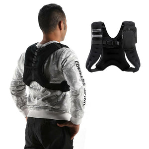 Adjustable Weighted Running Vest For Workout