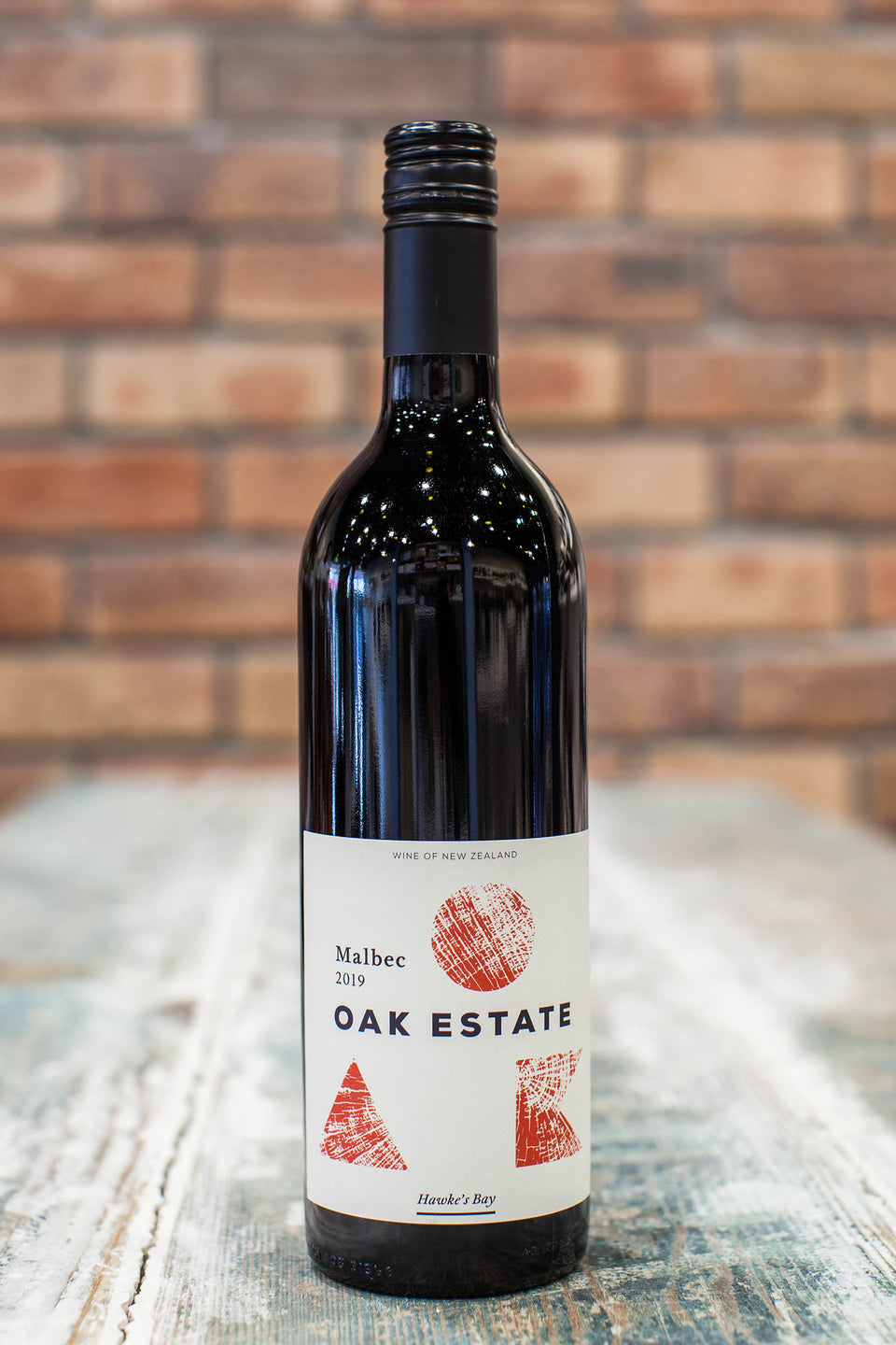 2019 Oak Estate Malbec, Hawke's Bay