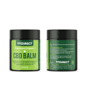 CBD BALM - 100% Natural Pain Relief - 1000mg