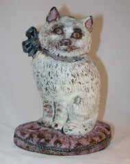 Cat Cast Iron Doorstop