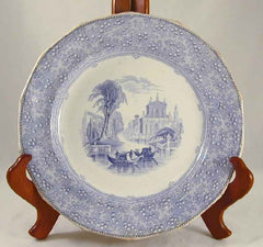 William Adams Transferware Plate