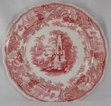 Adams Mulberry Transferware Plate
