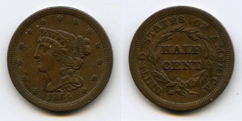 Half Copper Cent