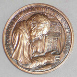 Official Vatican Bronze Medal Jubilee of Holy Year of Mercy 2016 Pope Francis in Original Box & COA