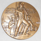 May 1961 Large Bronze Medal The Society Of Medalists 63rd Issue By Adolph Block Original Box and Literature