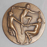1968 Large Bronze Medal Society of Medalists 77th Issue Nina Winkel Sculptor
