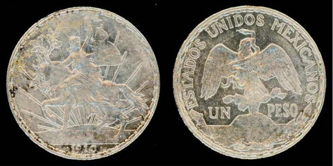 Mexican One Peso Silver Crown